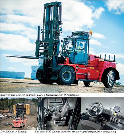 Kalmar 16 Tonnen Dieselstapler