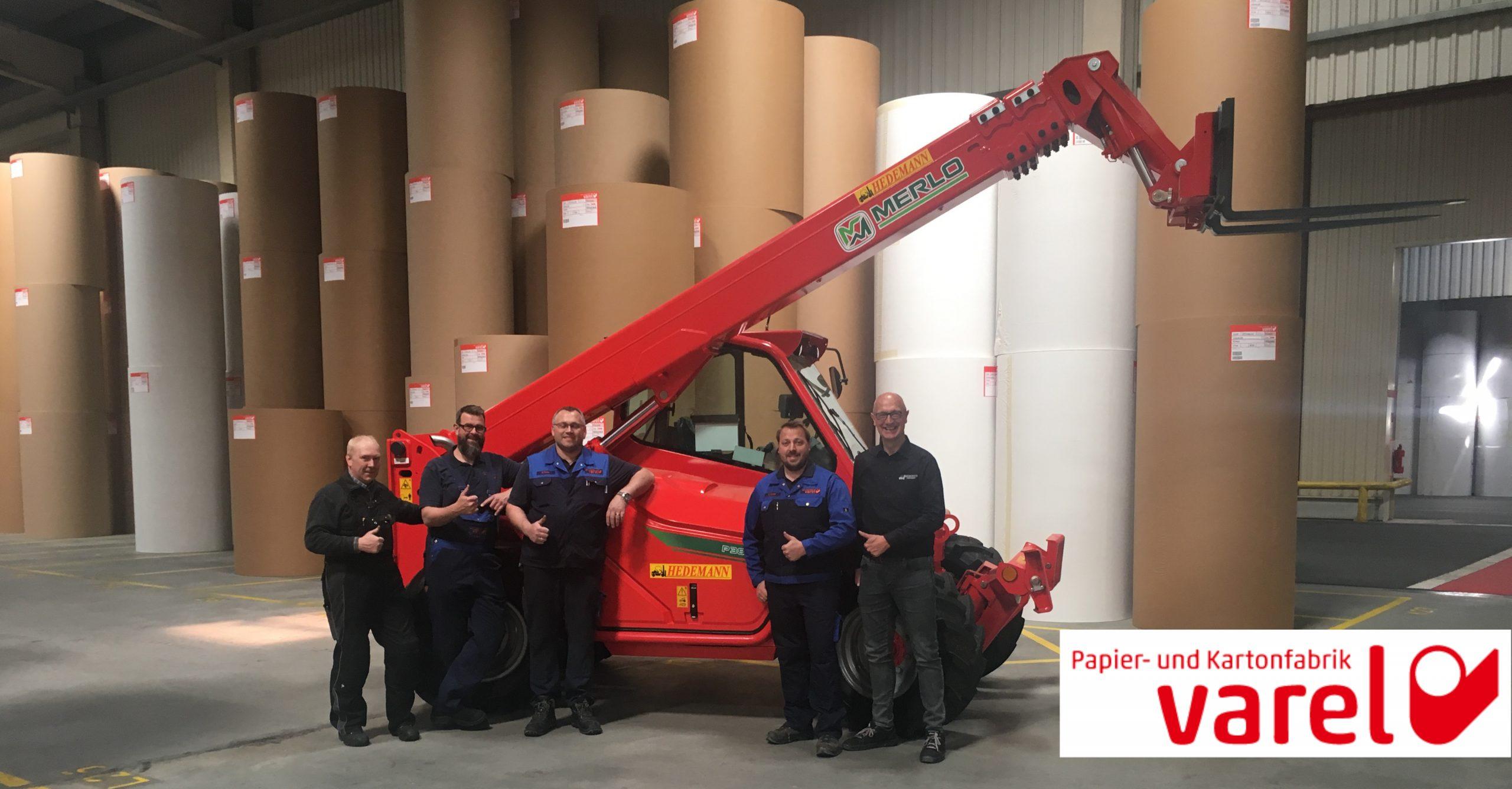 Papier- u. Kartonfabrik Varel erhält MERLO