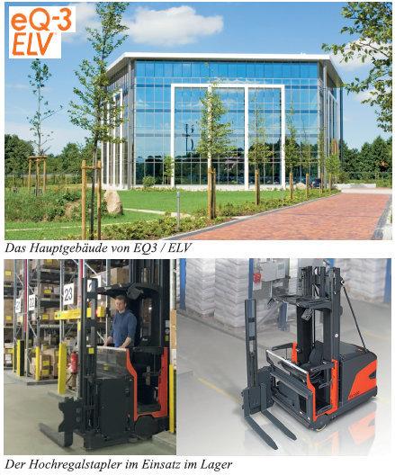 ELV Elektronik – Leer Neuer Hochregalstapler