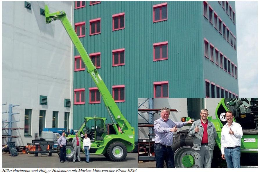 EEW Heringen bekommt 12 to Merlo-Teleskoplader