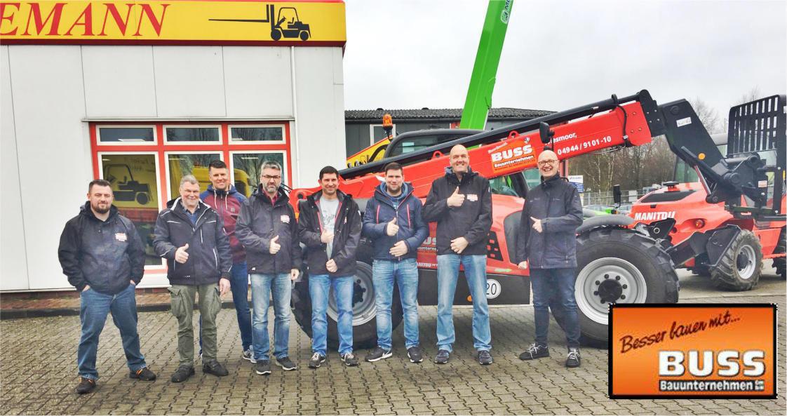 Ausbildung für Teleskoplader bei Hedemann GmbH