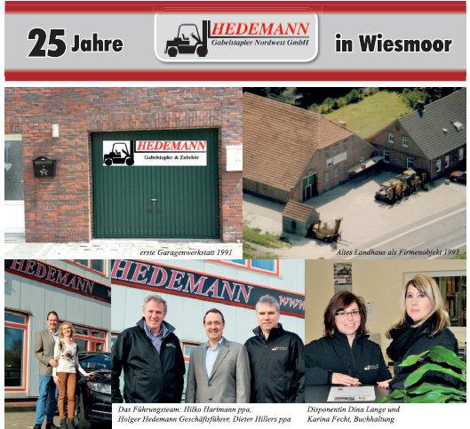 25 Jahre Hedemann – 1991 bis 2016