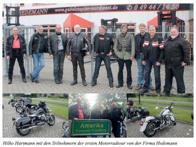 Erste Häuptlingstour von Hedemann war ein voller Erfolg!