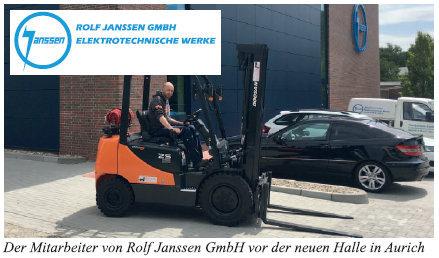 Erfolgreiche Zusammenarbeit: Hier präsentiert die Firma Hedemann weitere Auslieferungen