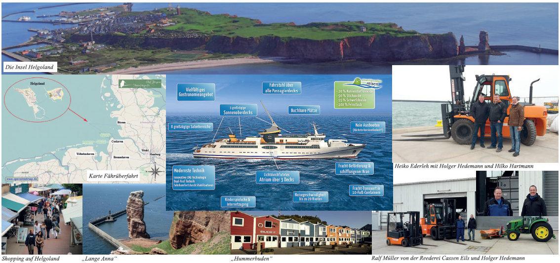 Neues Schiff und neue Hafenlogistik für Helgoland