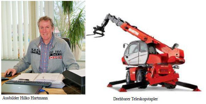 Neue Schulungen bei Hedemann – Fahrer von Teleskopstaplern