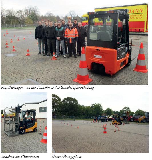 Fahrerausbildung für Staplerfahrer