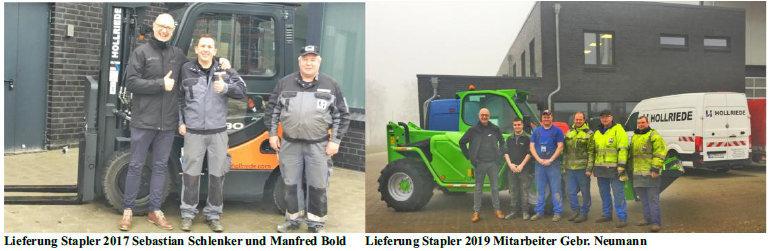 Neuer Merlo 38.13 für Gebrüder Neumann in Hollriede