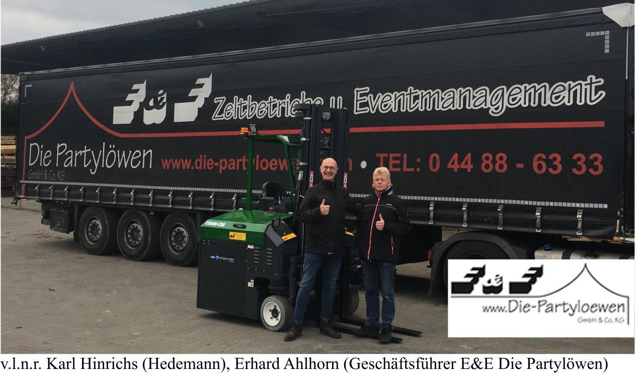 E&E Die Partylöwen – spielend leicht in alle Richtungen unterwegs