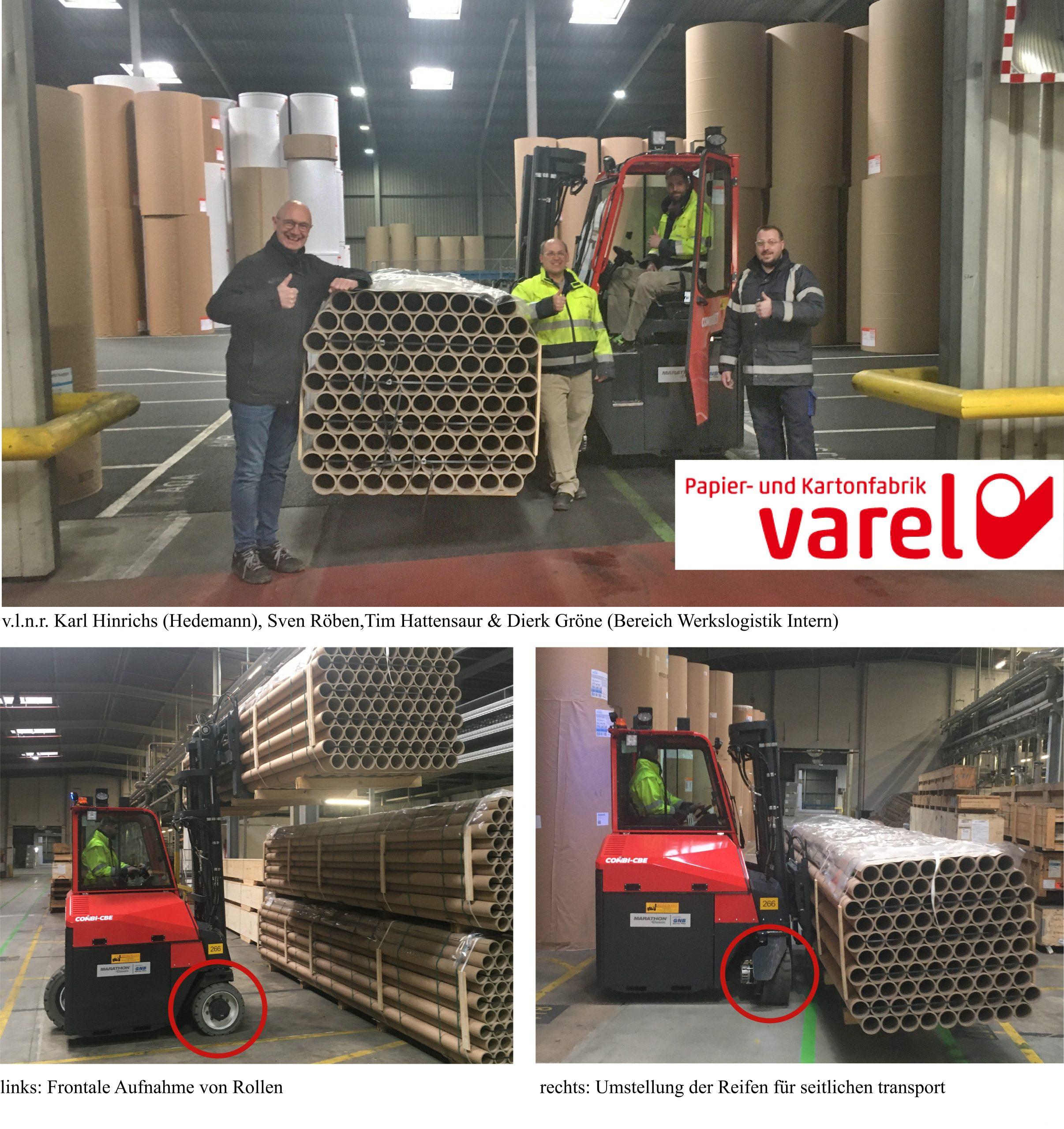 PK Varel – Über vier Wege Zeit sparen?