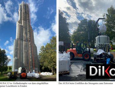 Mietstapler von Hedemann an Campener Leuchtturm-Sanierung beteiligt