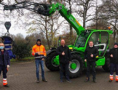 Merlo Multi Farmer – Ein Gerät für alle Arbeiten auf der Kläranlage