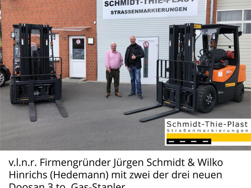Treibgas-Stapler für Lager und LKW Be- und Entladung